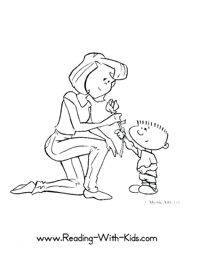 677x876 Mother Teresa Coloring Page Mother Coloring Page Mother Coloring