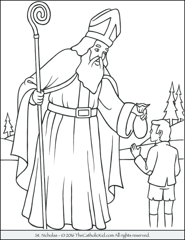 736x952 Mother Teresa Coloring Page Saint Coloring Page Blessed Mother