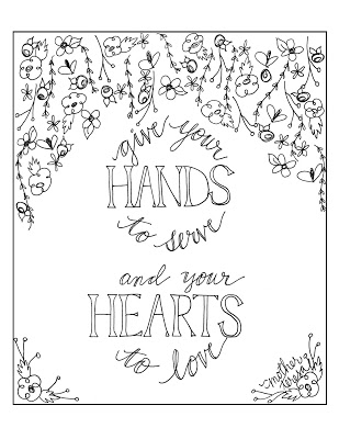 309x400 Look To Him And Be Radiant Mother Teresa Quote Coloring Pages