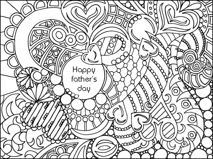 700x524 Mothers Day Adult Coloring Pages Adult Coloring Page Fathers Day