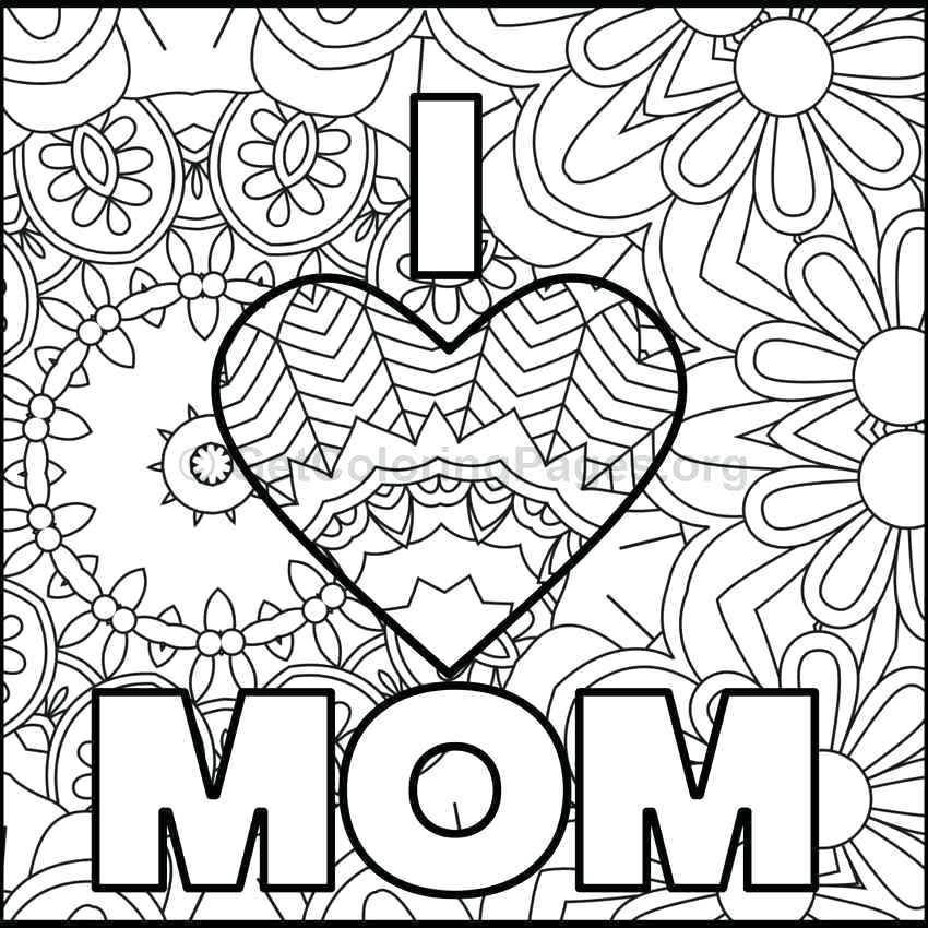 850x850 Mothers Day Coloring Pages Mothers Day Flowers Colouring Pages