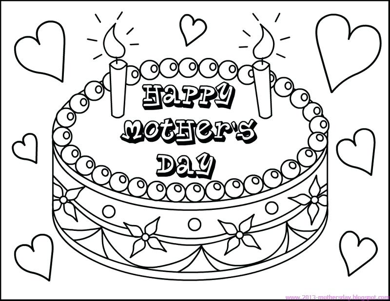 800x618 Mother Day Coloring Pages Icontent