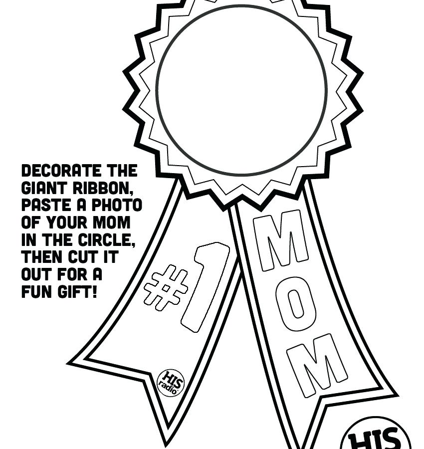 Mothers Day Coloring Pages For Kids