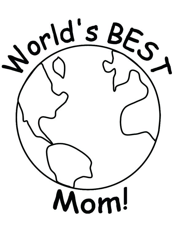 570x760 Mother Coloring Pages Happy Mothers Day Coloring Pages For Kids