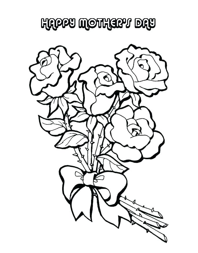 685x874 Mothers Day Colouring Pictures Kids Coloring Pages To Print As