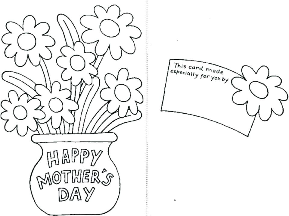 960x720 Printable Mothers Day Coloring Pages A Coloring Pages Kids Free