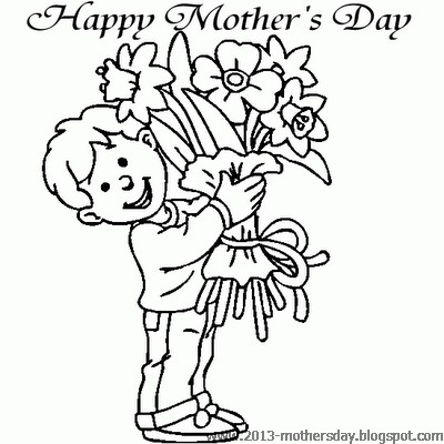 400x400 Wallpaper Free Download Happy Mothers Day Coloring Pages