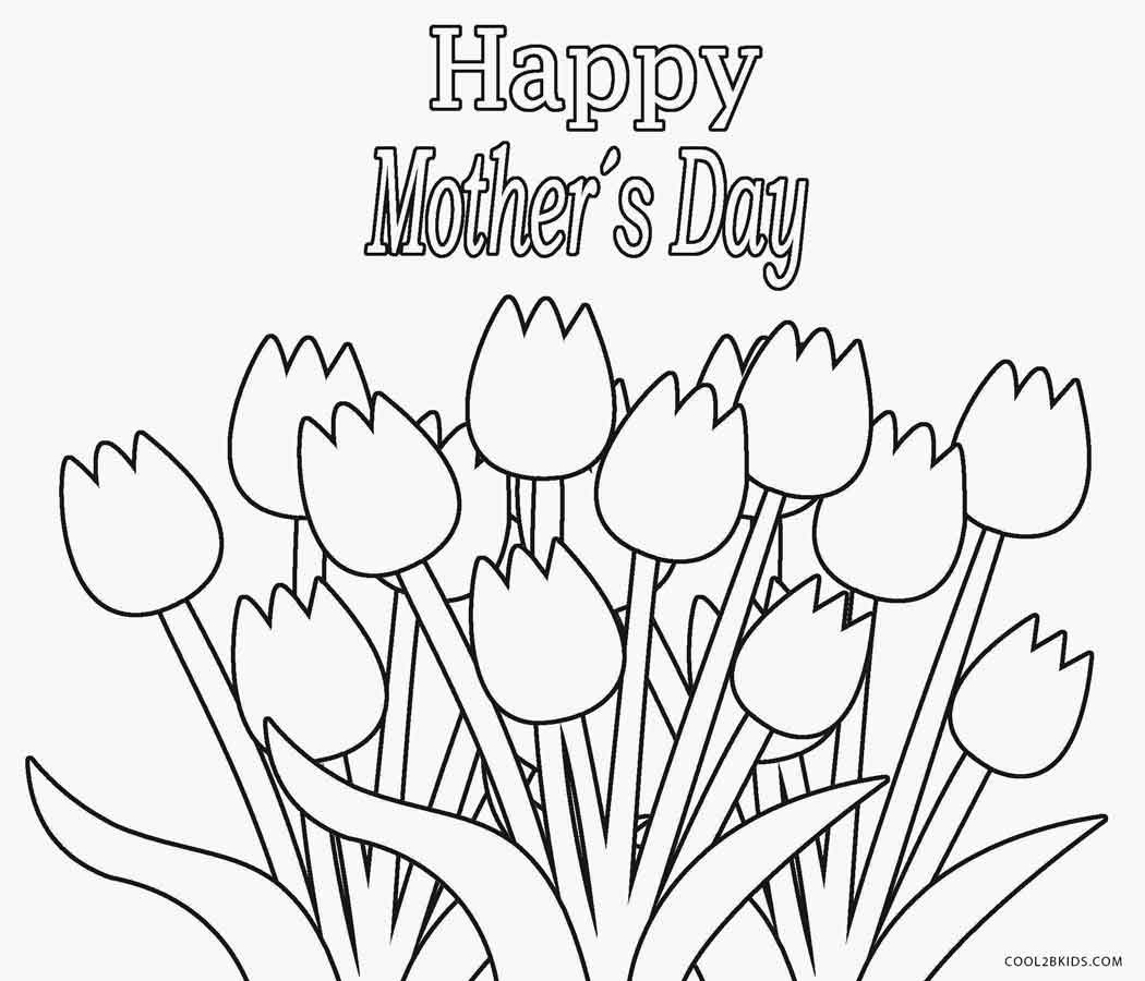 1050x900 Free Coloring Pages Mothers Day