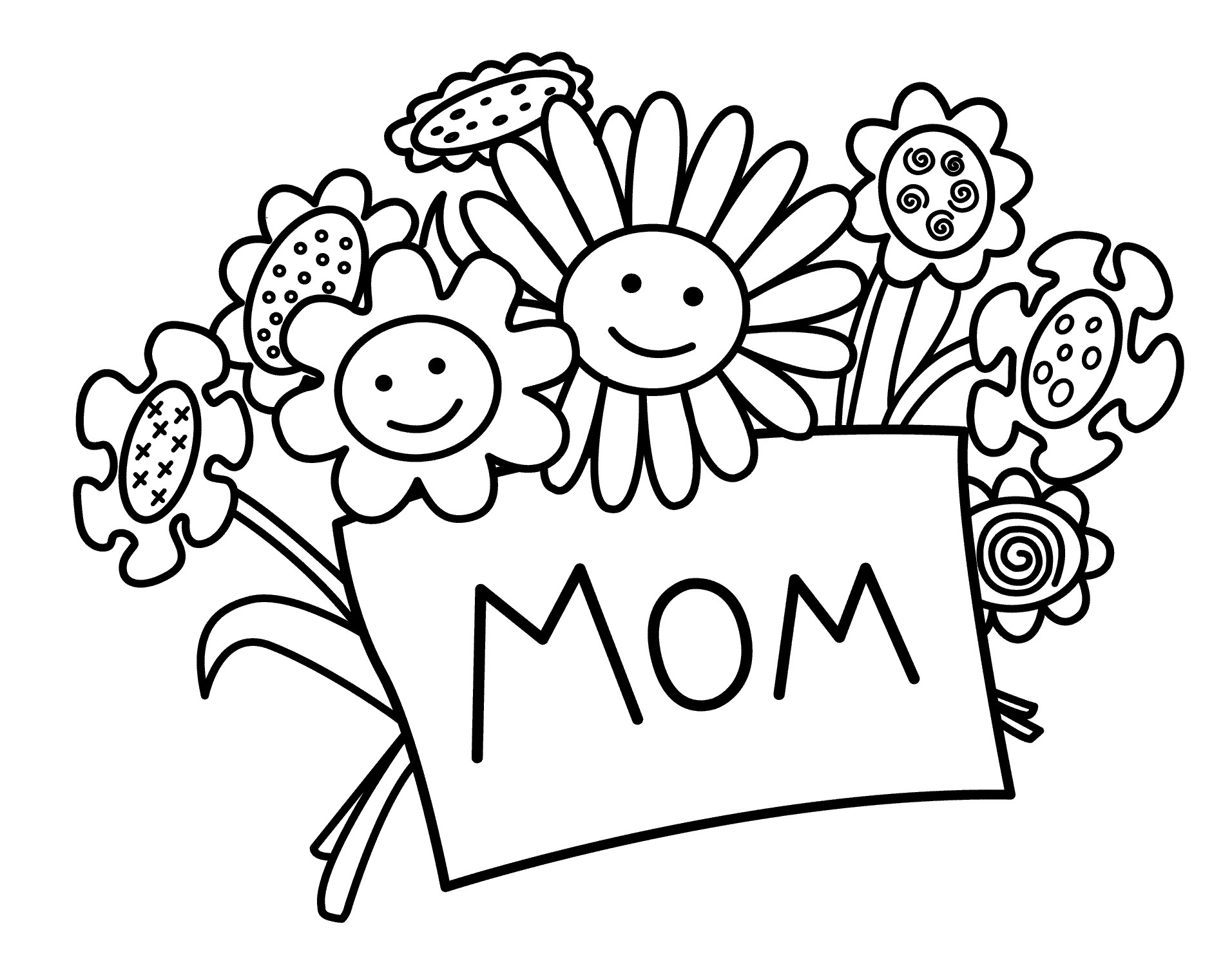 1912x1483 Mothers Day Coloring Day Pages Copy Free Printable Mothers Day