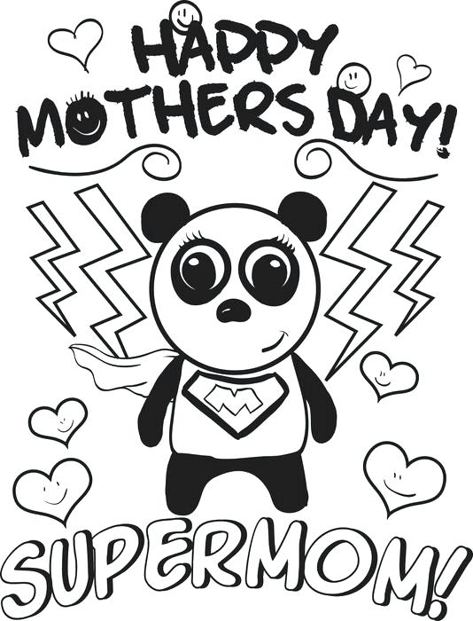 534x700 Mothers Day Coloring Pages For Free Printable Day Coloring Pages