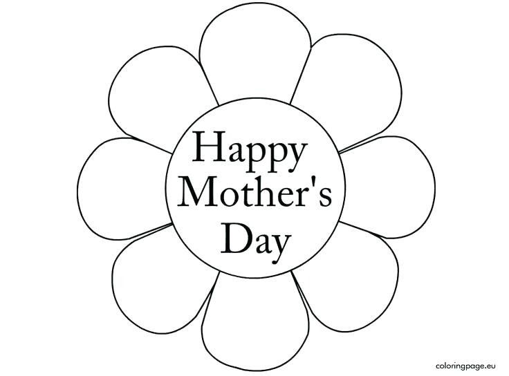 736x544 Mothers Day Coloring Pages For Preschool Mothers Day Coloring