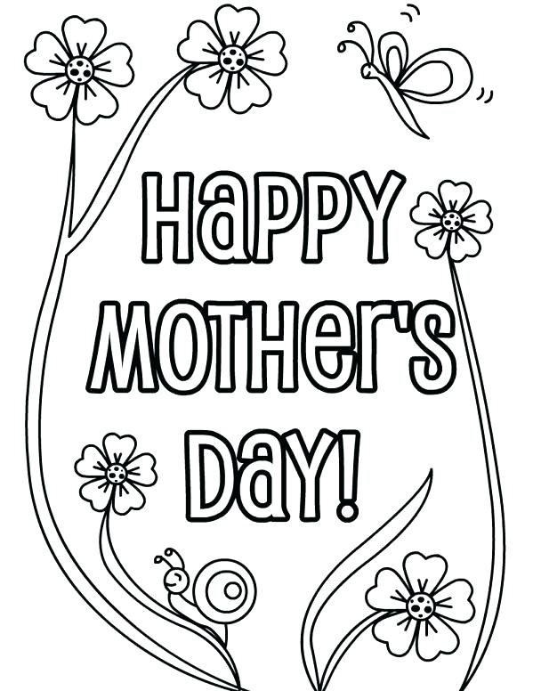 599x776 Mothers Day Coloring Pages For Toddlers Free Toddler Coloring