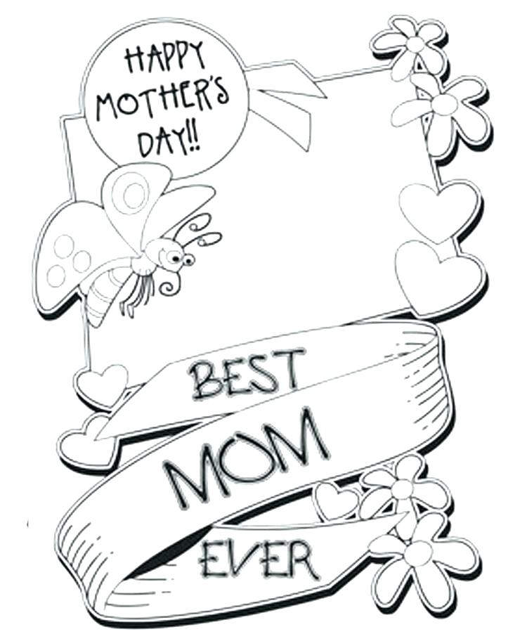 750x902 Mothers Day Coloring Pages For Toddlers Mothers Day Coloring
