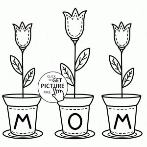300x300 Mothers Day Coloring Pictures To Print New Happy Mothers Day