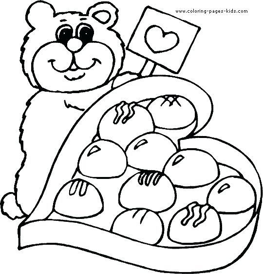540x562 Best Coloring Pages For Kids Images On Children Valentine Coloring