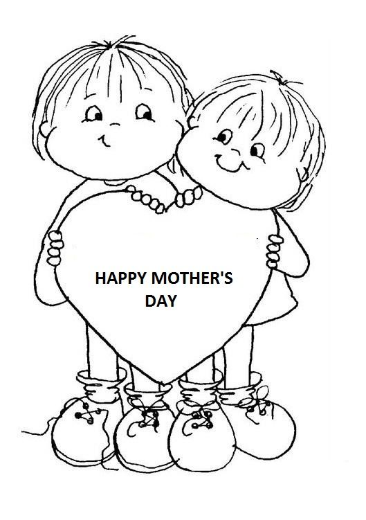 529x751 Mother's Day Coloring Page