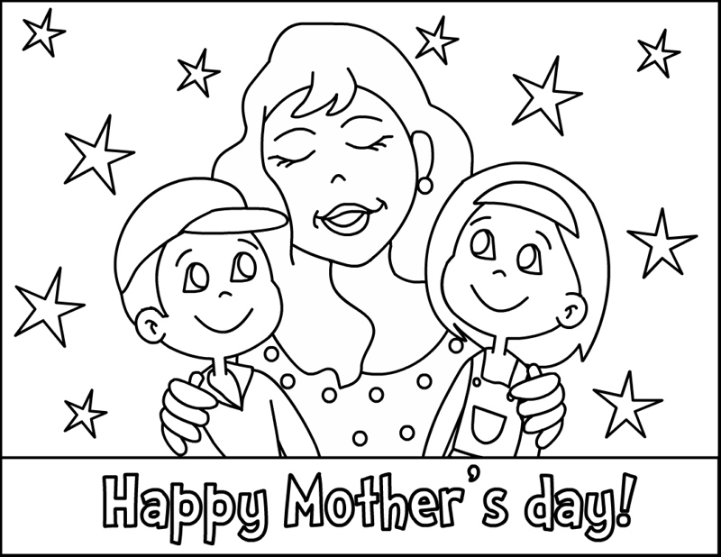 800x618 Mothers Day Coloring