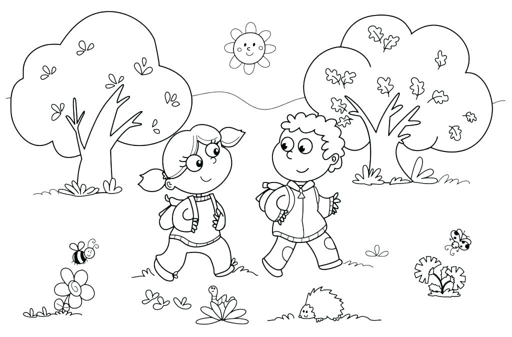 1024x674 First Day Of Preschool Coloring Pages First Day Of School Coloring