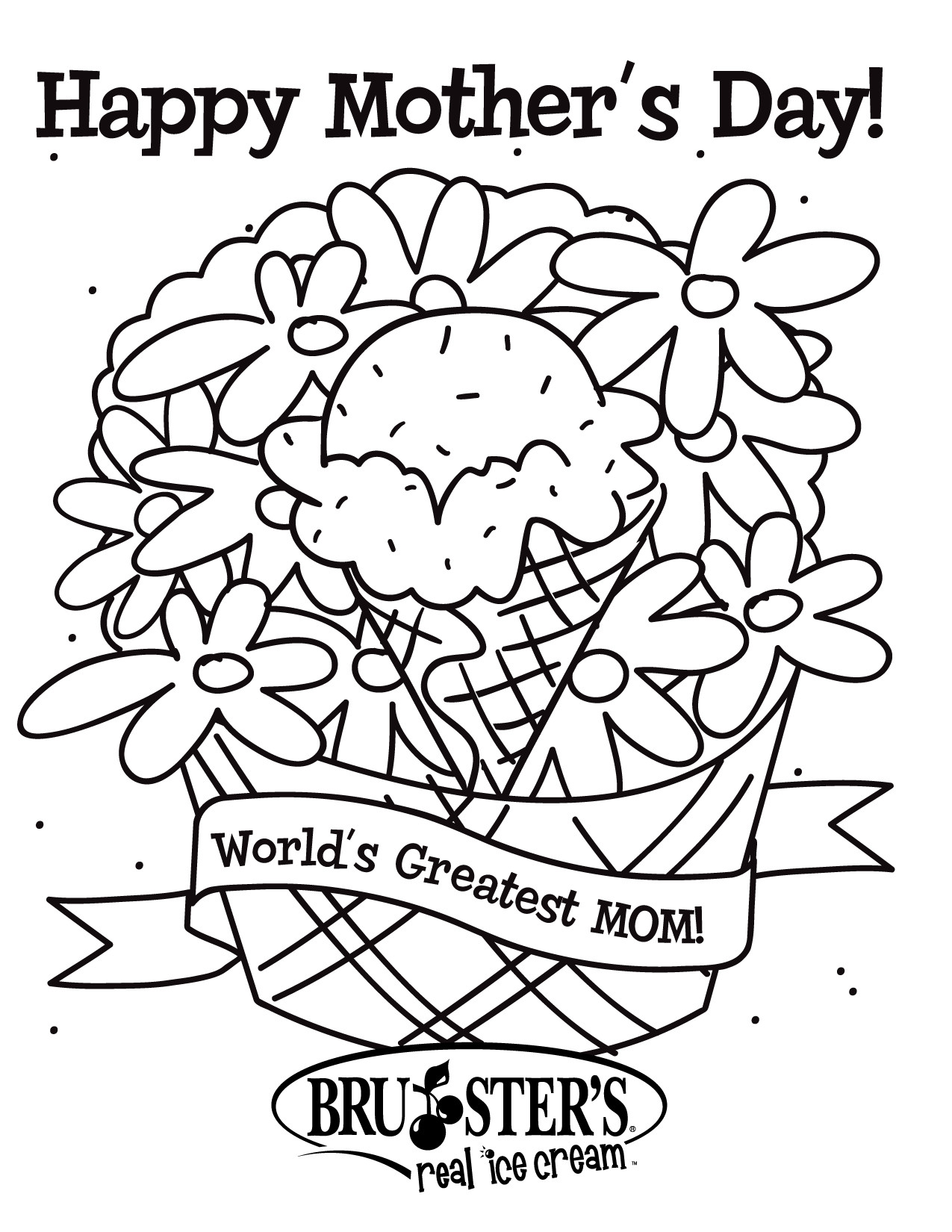 1275x1650 Free Kindergarten Mothers Day Coloring Pages Happy
