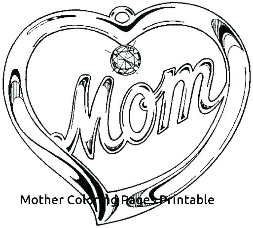 picture regarding Mothers Day Coloring Pages Printable referred to as Moms Working day Coloring Webpages Towards Print at