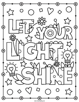 Motivational Coloring Pages At Getdrawings Com Free For