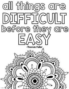 Motivational Coloring Pages For Adults at GetDrawings.com ...