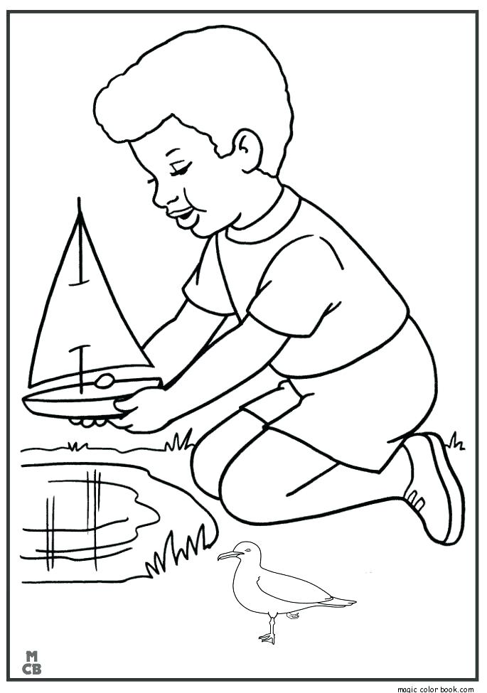 685x975 Boats Coloring Pages Coloring Pages Of Boats Sailing Boat Coloring