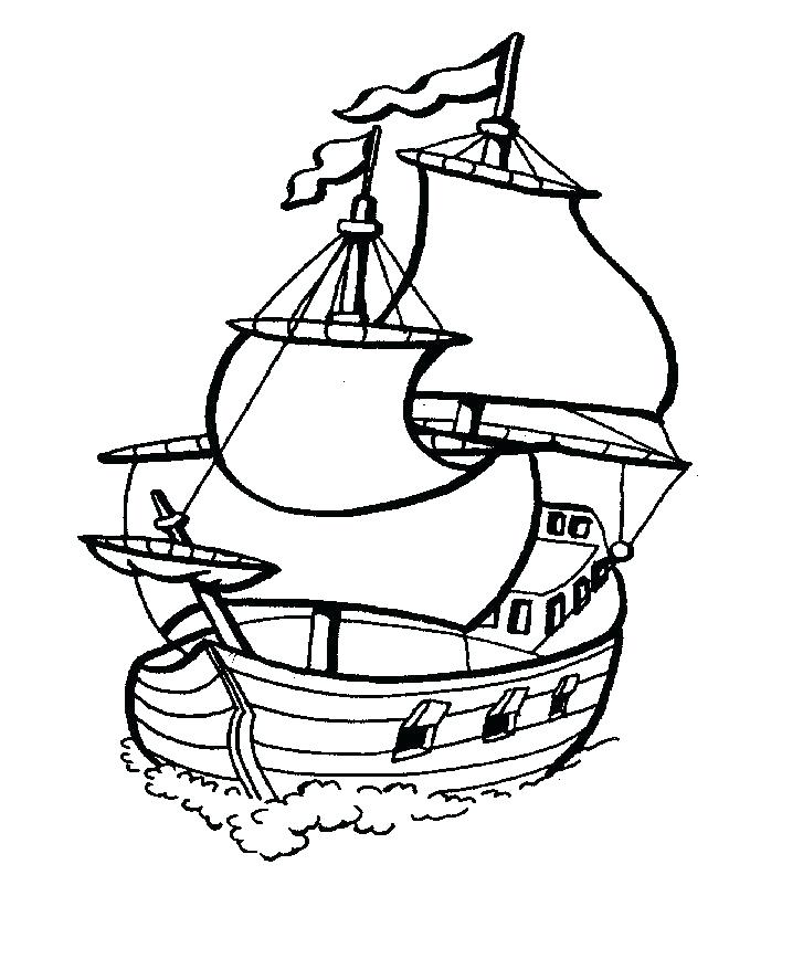 727x878 Coloring Pages Of Boats Coloring Pages Boats Free Colouring Pages