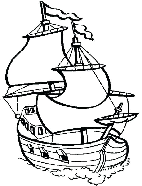600x788 Fishing Boat Coloring Pages For Kids Used Fishing Boat On Coloring