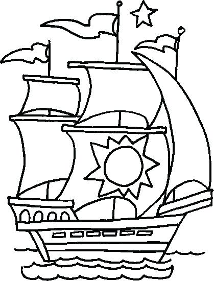 419x550 Motor Boat Coloring Pages Seaside Coloring Page Printable Speed