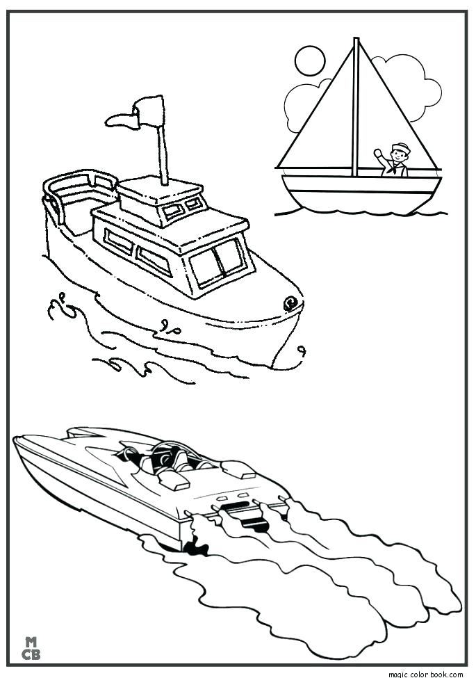 685x975 Coloring Pages Boats Coloring Collection