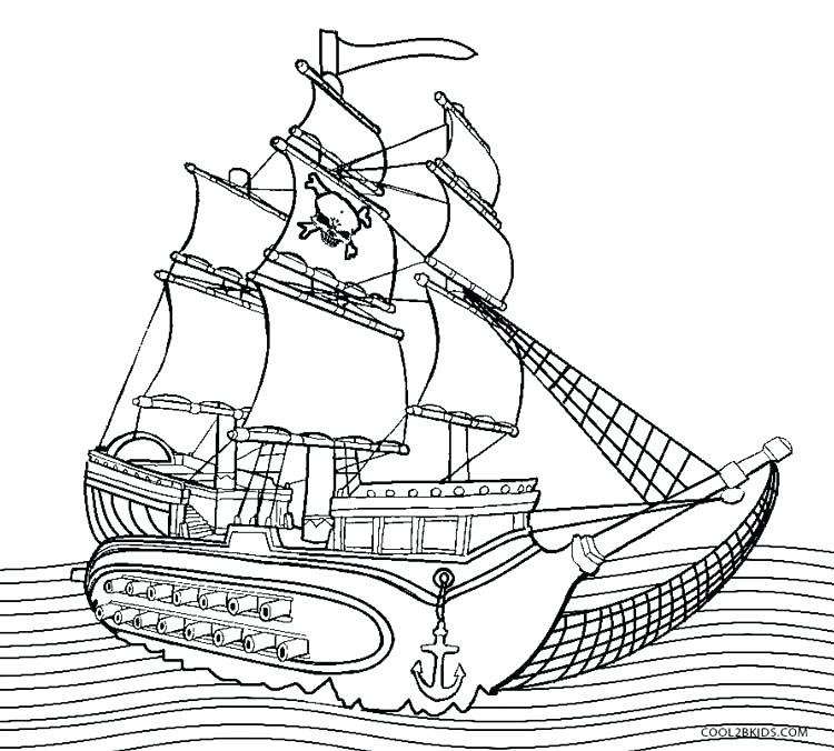 750x676 Speed Boat Coloring Pages