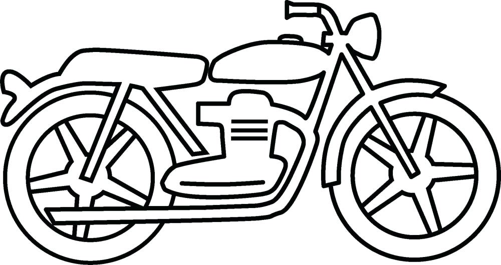 1000x530 Motorcycle Coloring Pages Printable Free Motorcycle Coloring Page