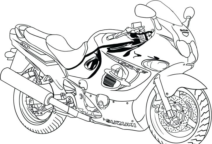 728x496 Motorcycle Color Pages Motorcycle Coloring Pages Batman Motorcycle