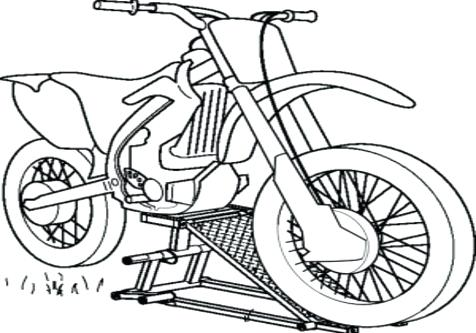 476x333 Motorcycle Coloring Pages Coloring Trend Medium Size Motorcycle