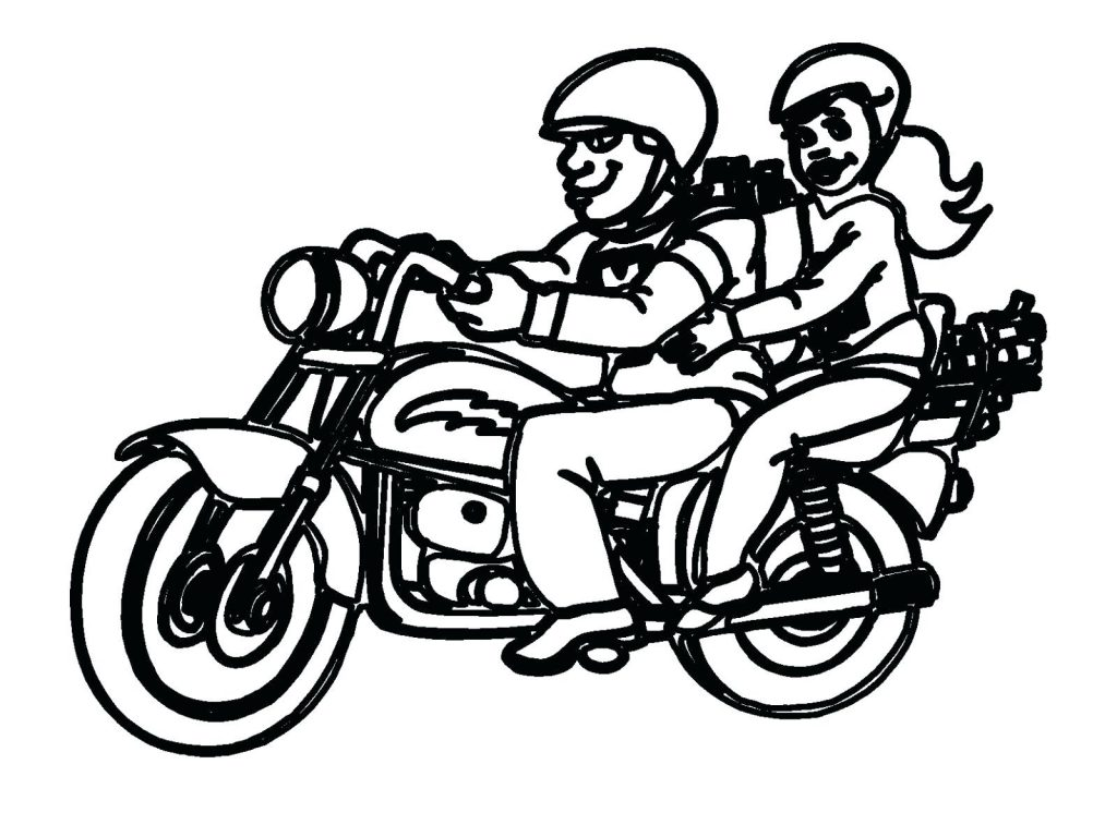1024x768 Coloring Pages Motorcycle Coloring Pages Beautiful Amazing