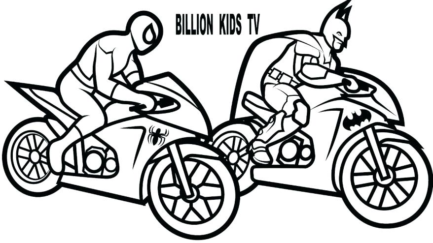 878x494 Motorcycle Color Pages Motorcycle Coloring Pages Also Free