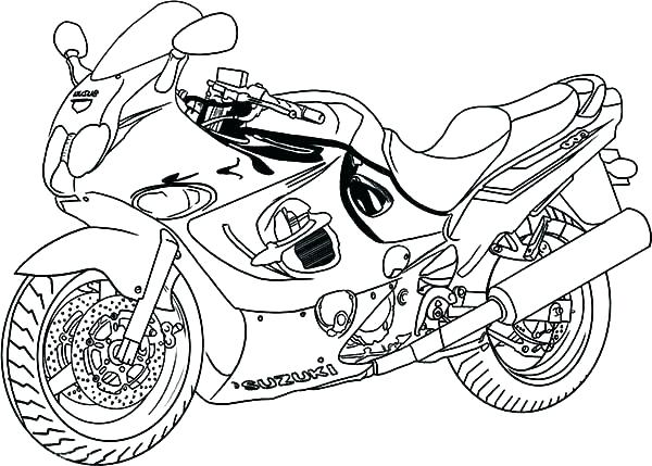 600x429 Motorcycle Coloring Pages Wheeler Coloring Pages Coloring Pages