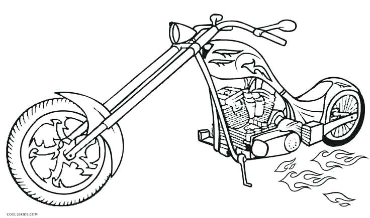 736x435 Motorcycle Coloring Pages Printable Hot Wheels Motorcycle Coloring