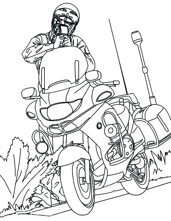600x776 Motorcycle Coloring Pages Printable Motorcycle G Pages Printable