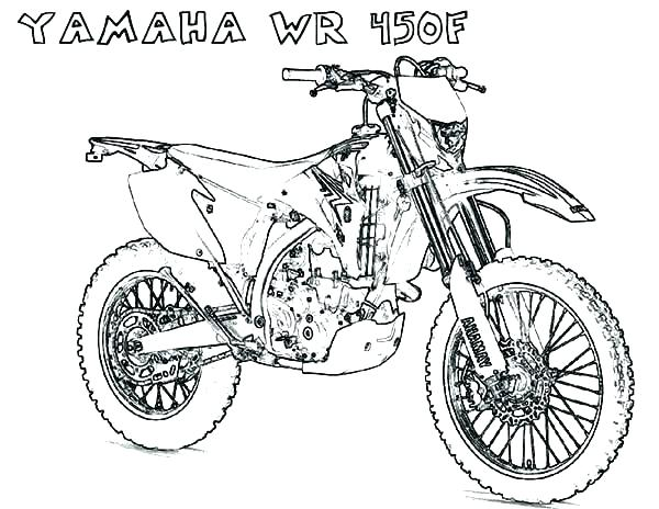 600x464 Dirt Bike Coloring Pages Motocross Coloring Pages Motorcycle