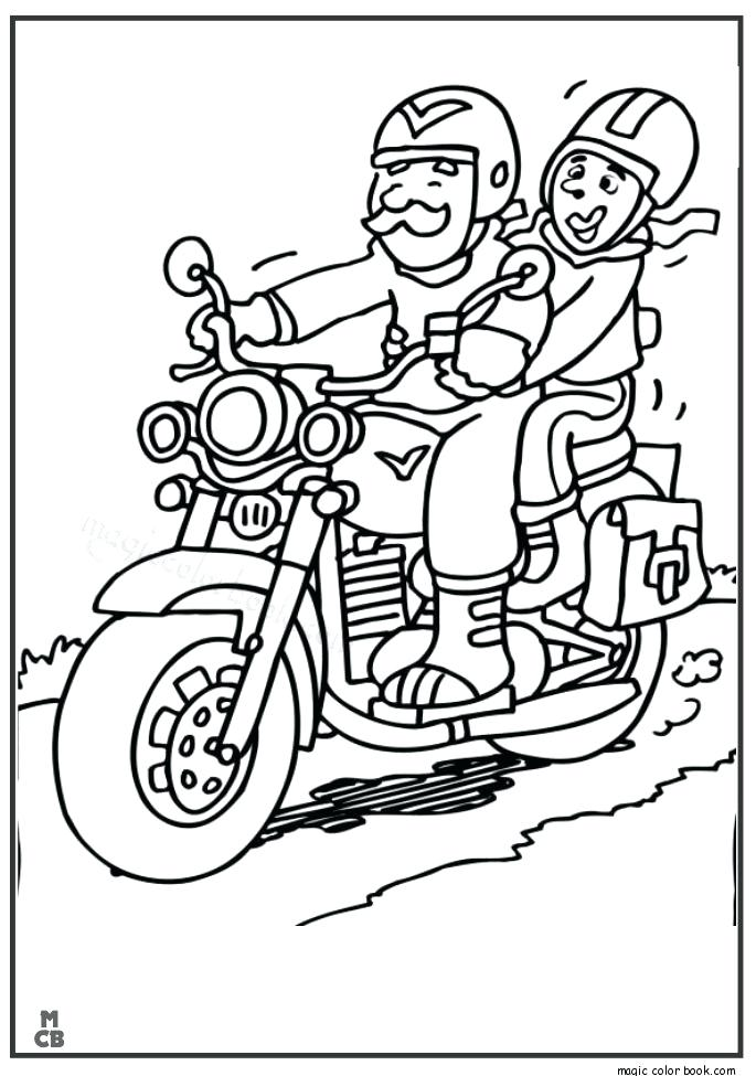 685x975 Motorcycle Coloring Pages Free Print Out Grandpa Drive Motorcycle