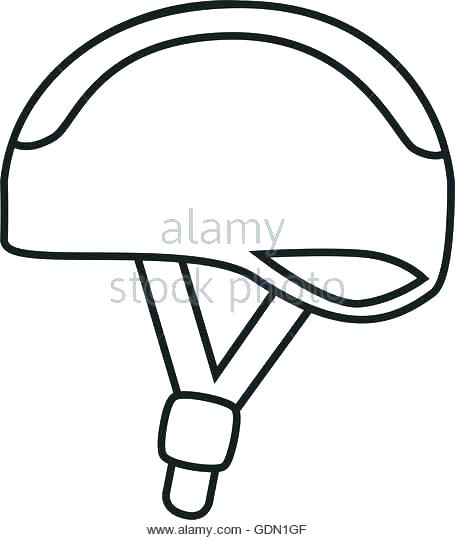 455x540 Bicycle Coloring Pages Bicycle Coloring Page Bike Helmet Coloring