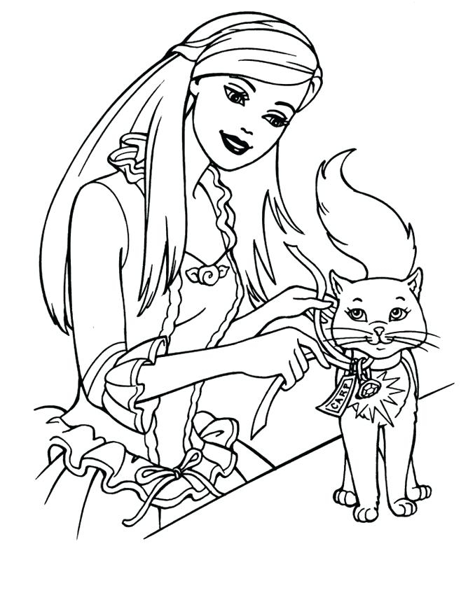 678x850 Barbie Printable Coloring Pages