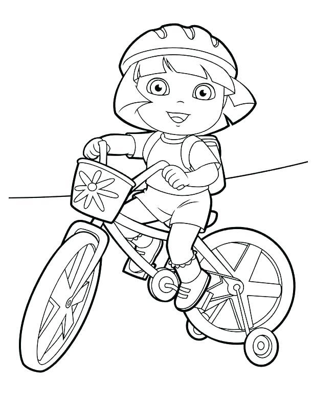 612x792 Dirt Bike Helmet Coloring Pages Bike Coloring Pages Dirt Bike