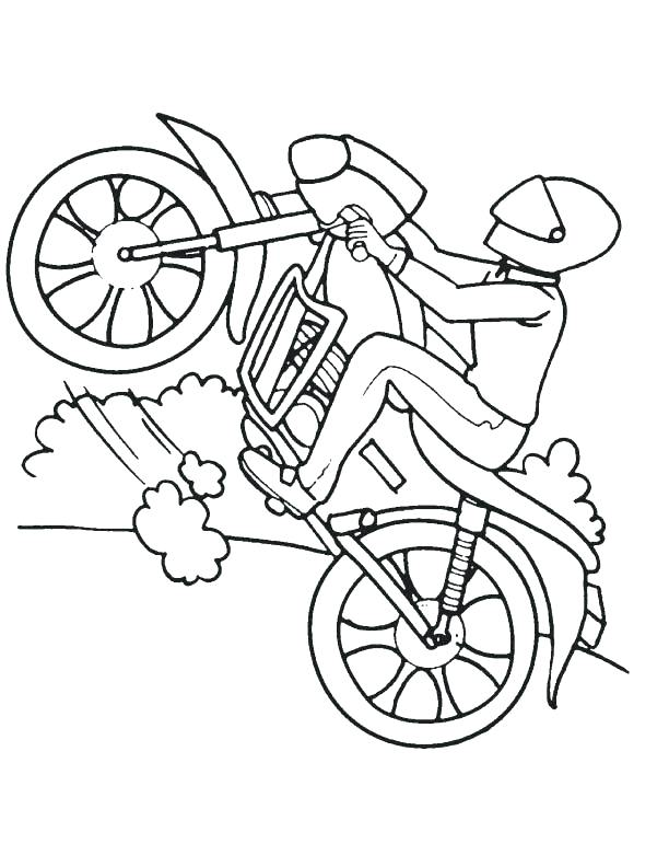 612x792 Top Rated Bike Coloring Pages Pictures Bike Coloring Pages Sport
