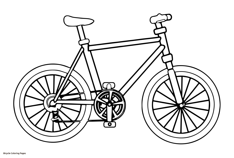 2835x1915 Tremendous Bicycle Coloring Pages Preschool Exploit Bike Colouring
