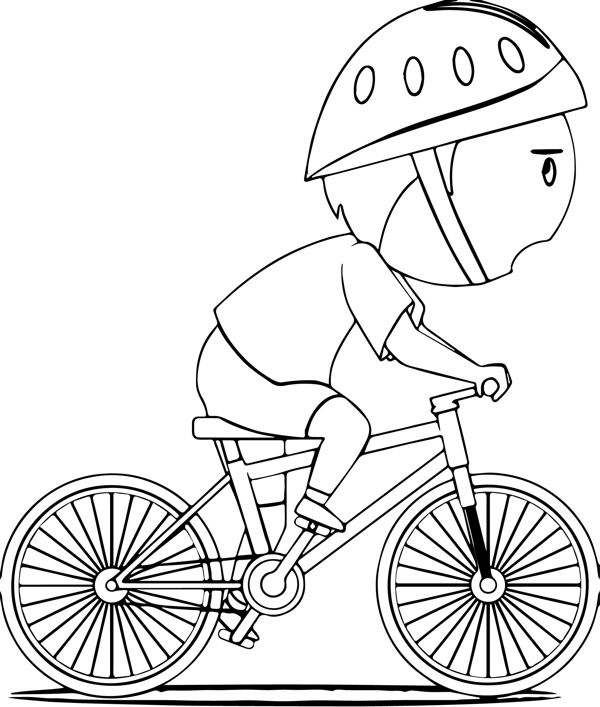 1919x2262 Bicycle Coloring Pages With Bike And Page