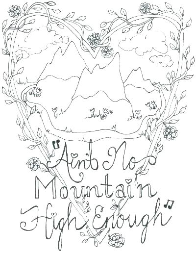 400x518 Coloring Pages Mountains Coloring Pages Of Mountains Mountain