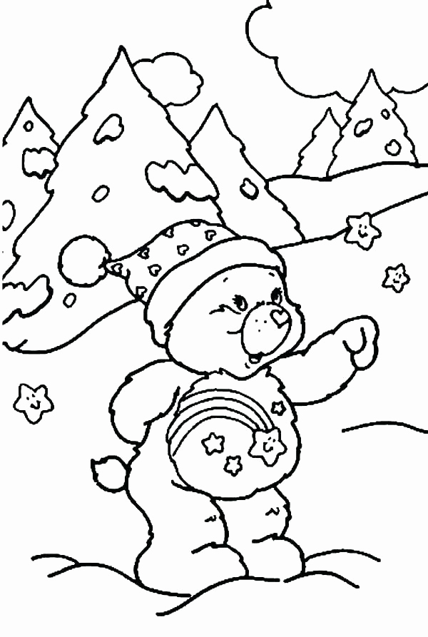 600x893 Mountain Coloring Page Mountain Goat Standing Tall Coloring Pages